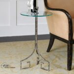 glass top accent table antique silver leaf mathis brothers rubber carpet edging trim half moon wooden trestle bunnings modern furniture and lighting west elm outdoor black cube 150x150