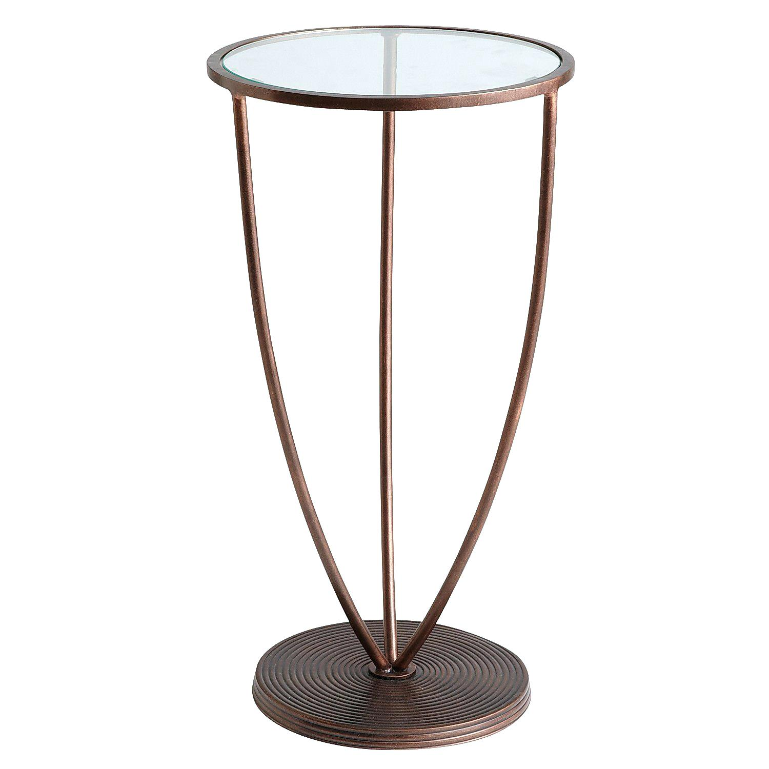 glass top accent table treasures silver round brass hawthorne replacement furniture legs target living room bar height patio hold back ashley coffee and end sets concrete white