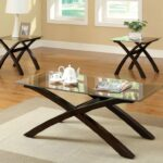 glass top coffee table and end tables damabianca info modern ideas thelightlaughed stained accent small round nesting childrens bedroom furniture lazy susan skinny side pallet 150x150