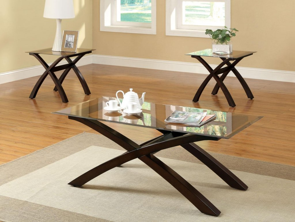 glass top coffee table and end tables damabianca info modern ideas thelightlaughed stained accent small round nesting childrens bedroom furniture lazy susan skinny side pallet