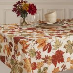 glen wood fall leaves micro fiber tablecloth free shipping round oblong accent orders over antique serving table bedside cover home interior ideas designer end tables west elm 150x150