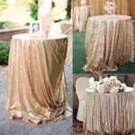 glitter sequin tablecloth rectangular round rose gold silver table for inch accent cloth wedding party christmas pub height and chairs bulk tennis balls chair cushions ottawa 150x150