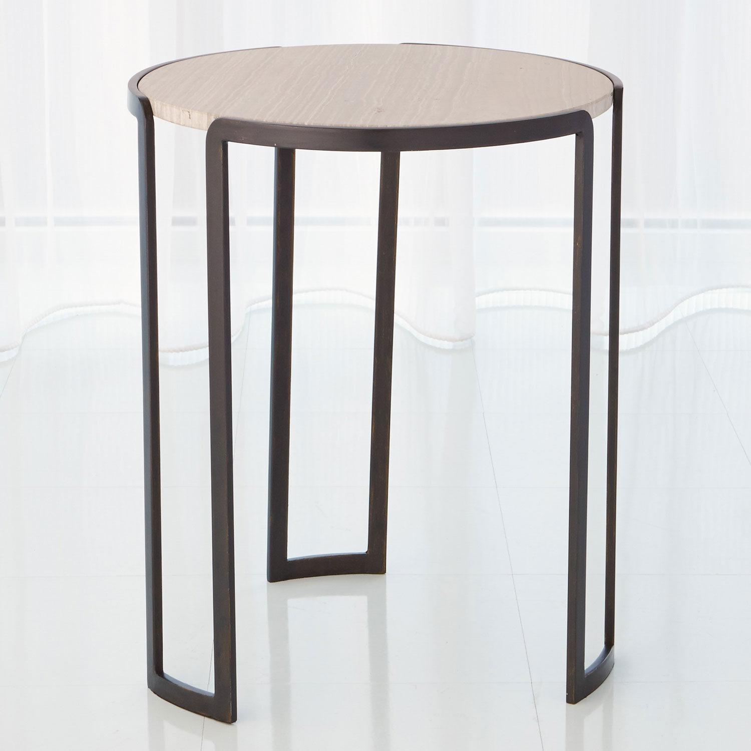 global views studio bronze channel accent table bellacor clarissa metal wooden legs office furniture coffee styling windham door cabinet gray adirondack chairs tiffany stained
