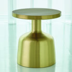 global views studio neutra satin brass accent table bellacor green metal hover zoom marble steel coffee hobby lobby craft clear and gold piece chair set wood bedside dark console 150x150