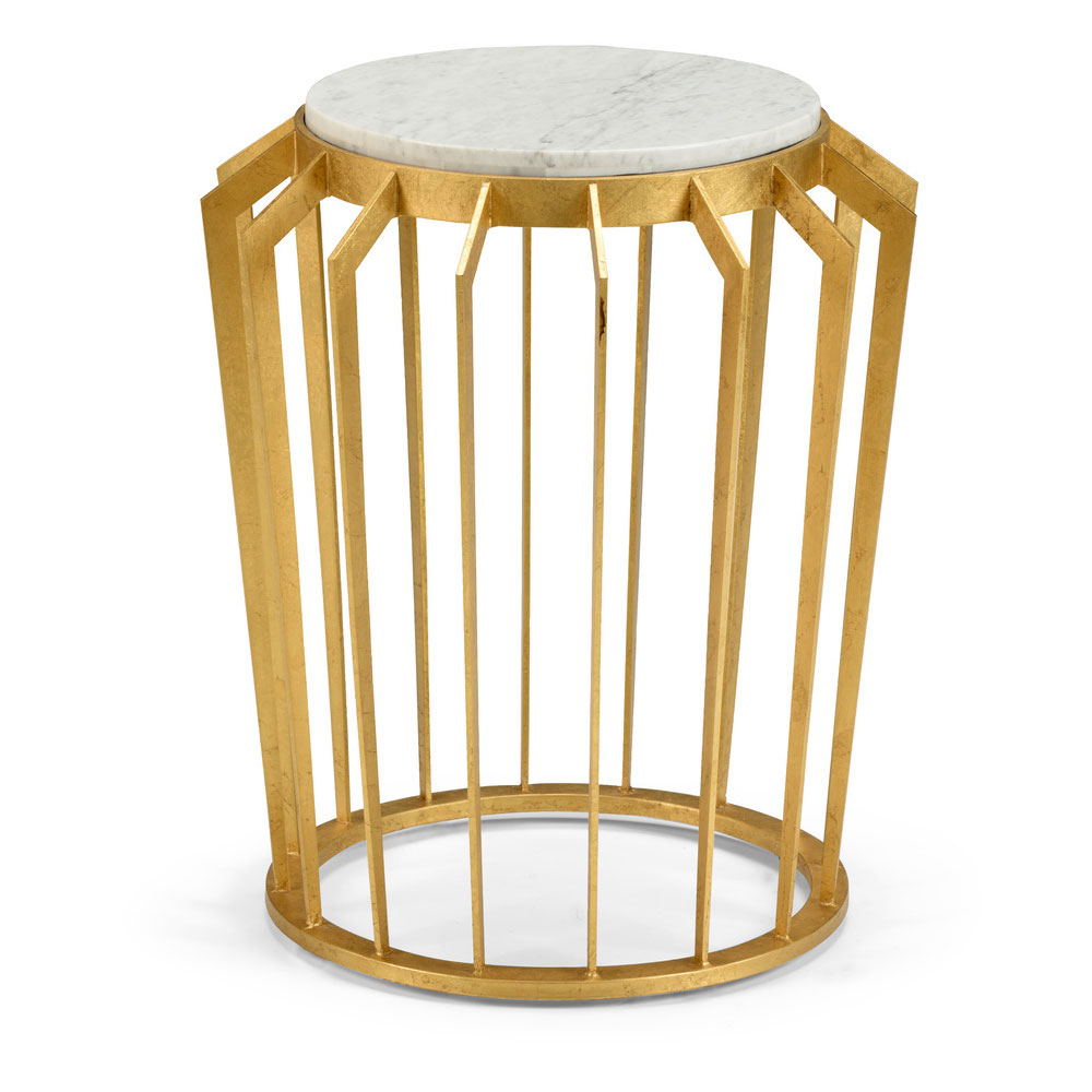 gold accent table dandelion spell wood drum side target patio stylish lamps pier one candles coffee brentwood furniture silver narrow end small teak stump outdoor iron folding