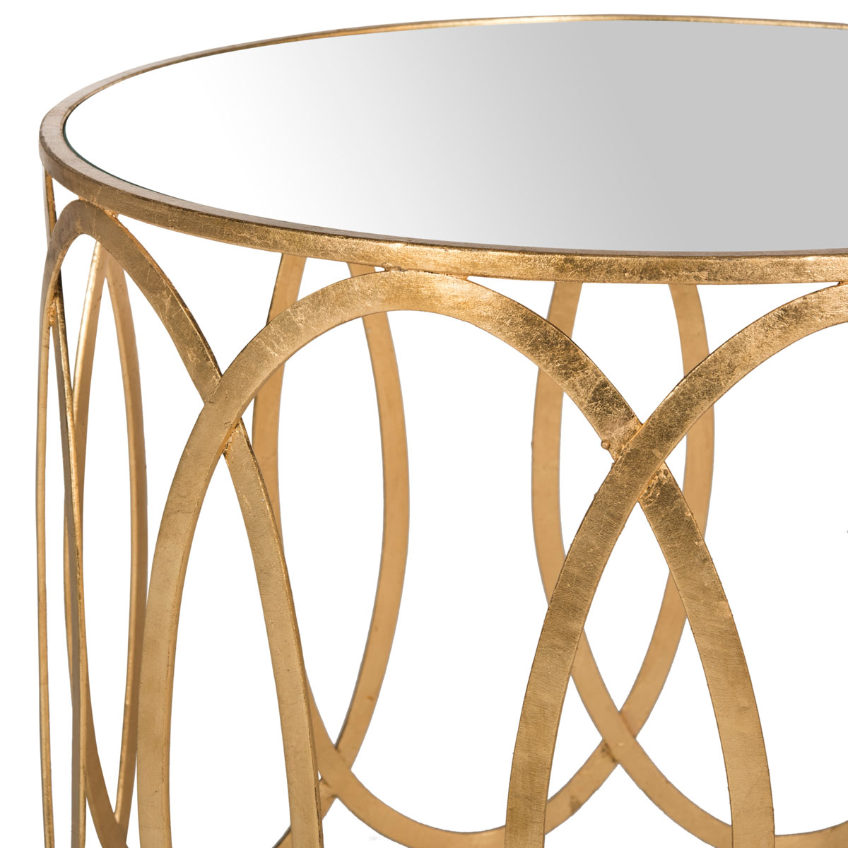 gold accent table end tables safavieh detail share this product drum lamp shades vitra chair replica antique round pedestal canopy umbrella rustic metal and wood inch cement base