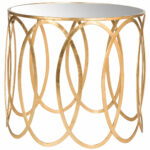 gold accent table end tables safavieh front mirrored product details long skinny coffee kitchen sets metal legs pier one dark pine furniture unusual marble top with storage 150x150