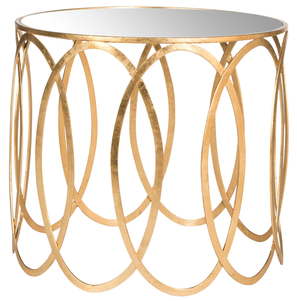 gold accent table end tables safavieh front product details mango wood console kids writing desk coffee with power garden stool side coca cola tiffany lamp shade wedding covers