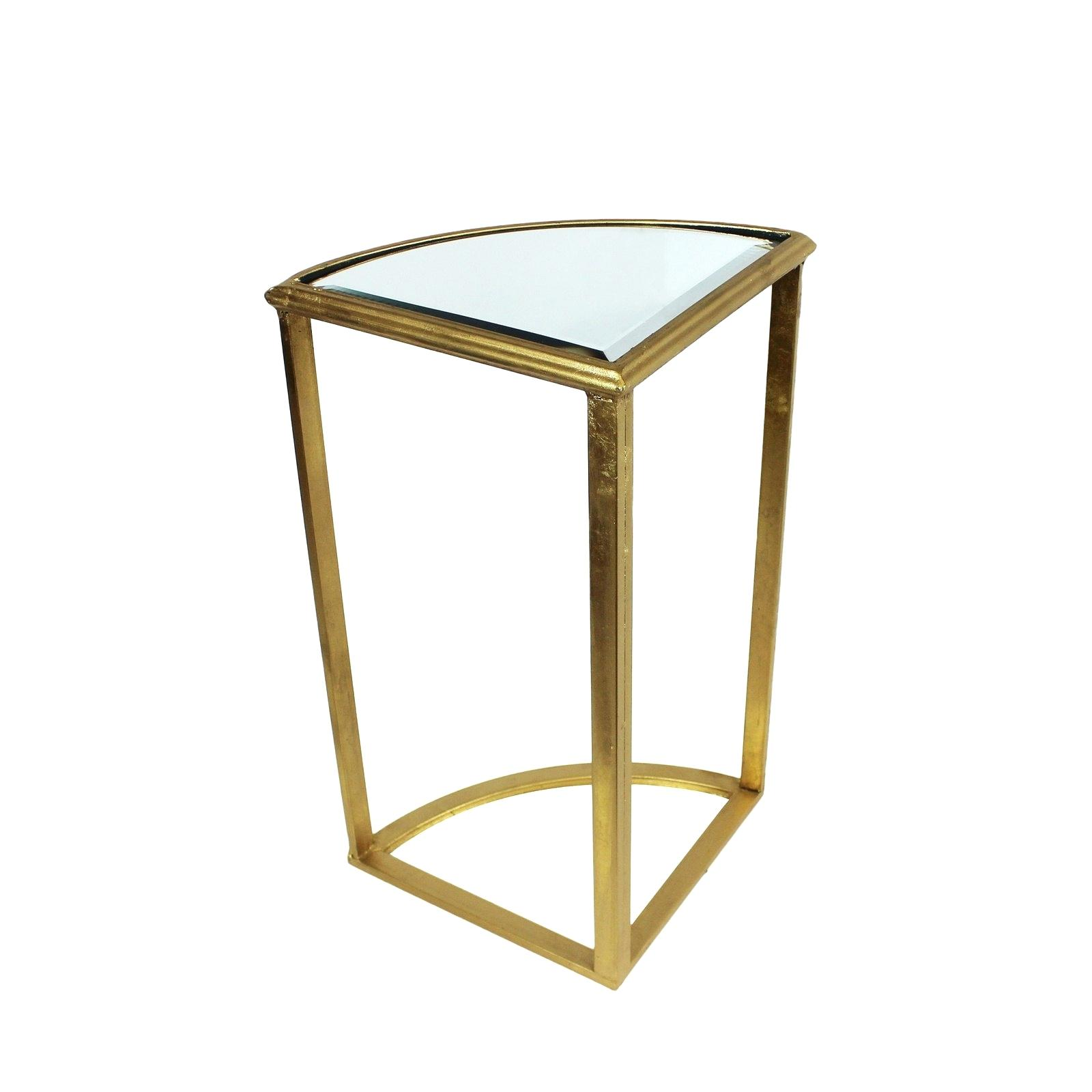 gold accent table metal glass set free urban designs round mirror mirrored dining room wall decor ideas solid cherry coffee kitchen sets cocktail linens childrens outdoor