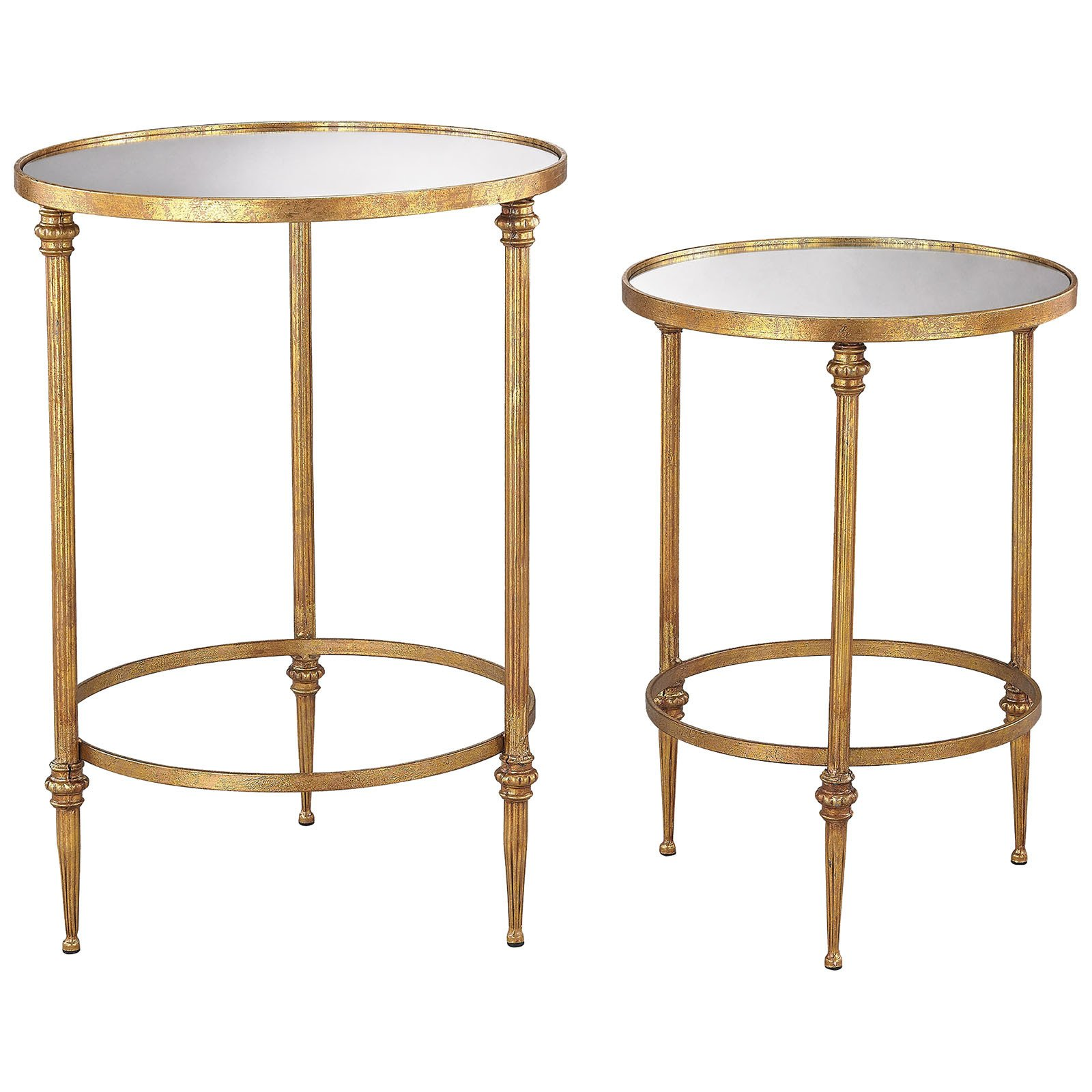 gold accent tables contemporary alcazar table and mirror antique set small garden placemats for round industrial side target chalk paint hobby lobby coffee marble top end narrow
