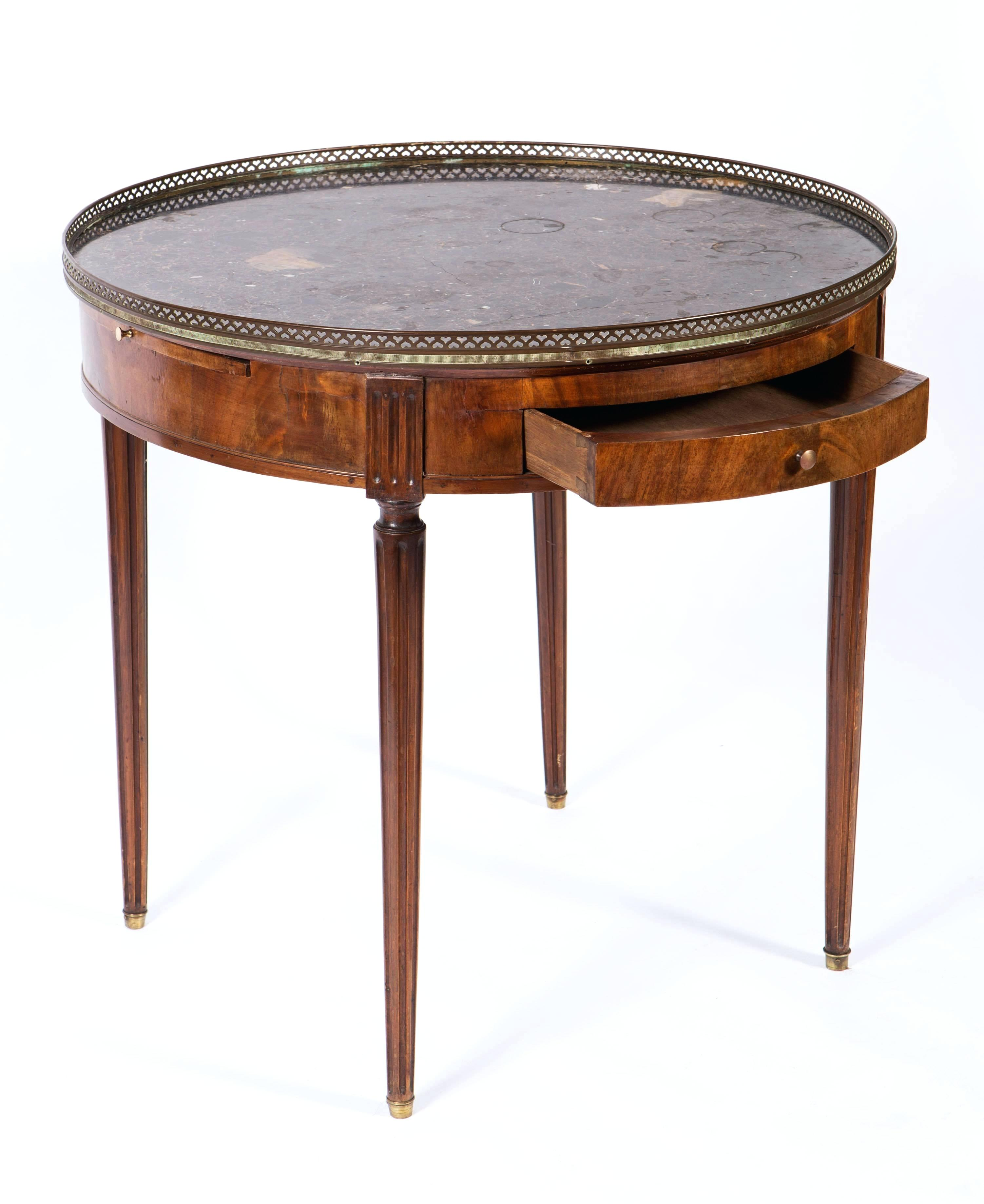 gold and marble end table round top dining antique llventures century french mahogany side with good condition for accent target thin bedside cabinets drum chairs back center