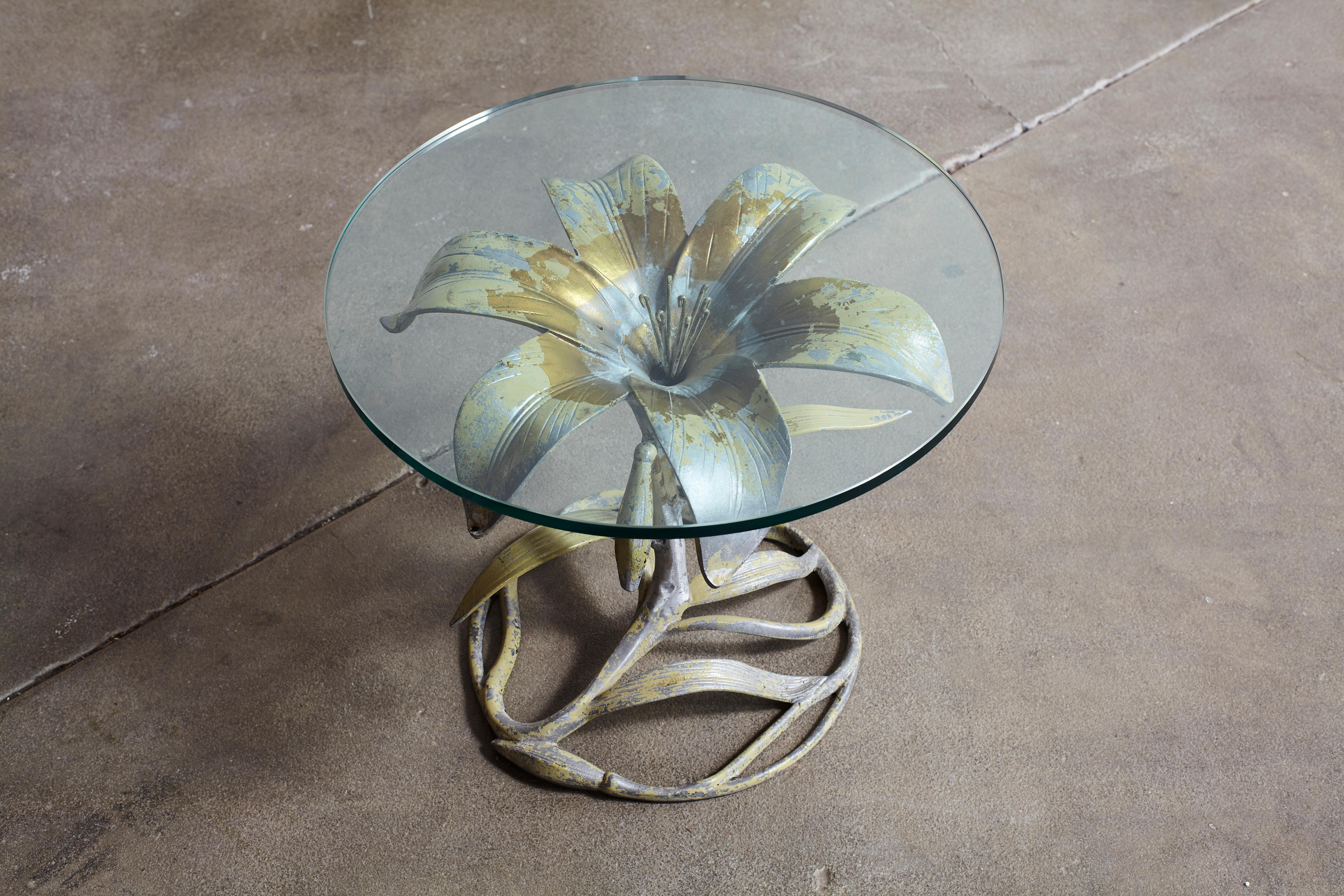 gold circles metal glass mirrored accent table half circle side flower shaped with top kitchen splendid master mirro round full size set nesting tables design classics furniture