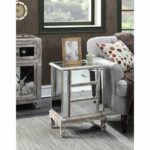 gold coast vineyard drawer mirrored end table weathered gray accent grey snack west elm box frame coffee mission brass side dining with six chairs sheesham wood nest tables ikea 150x150