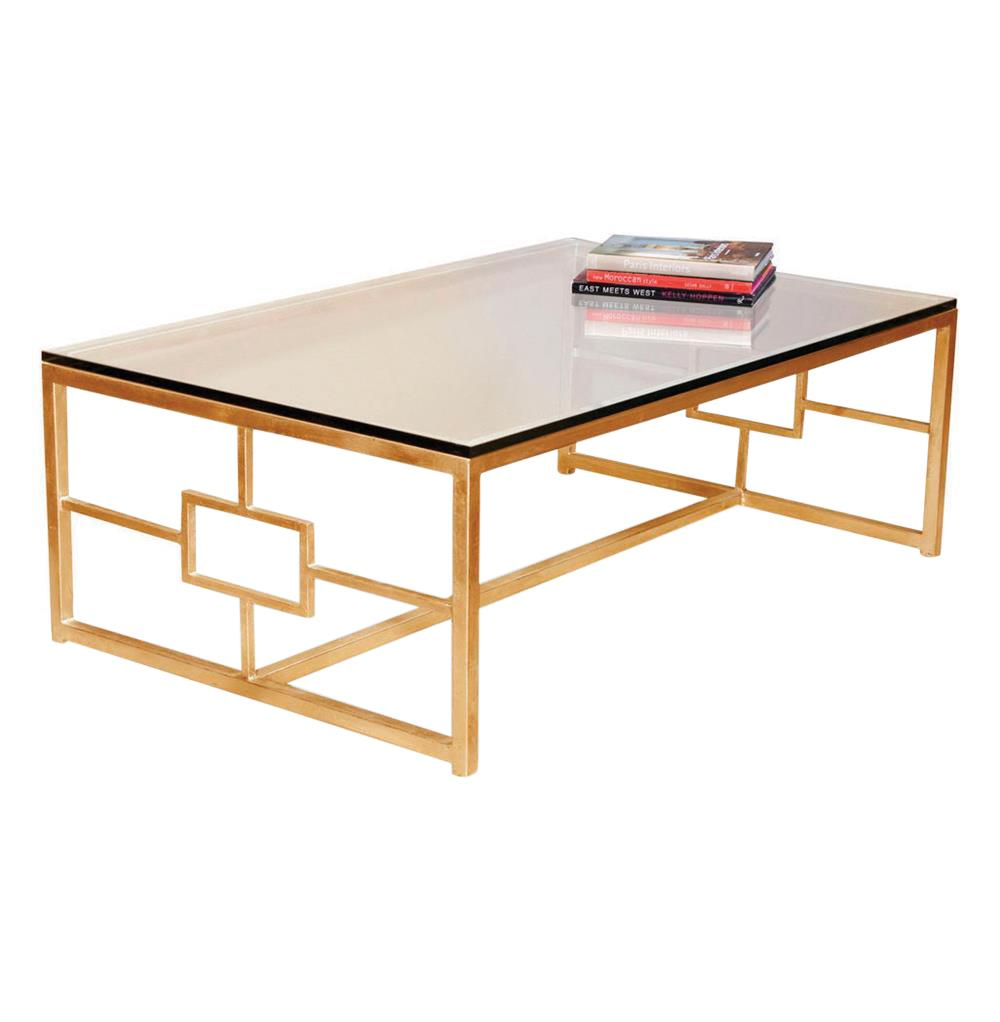 gold coffee table contemporary boutique style antique finish product accent interlude somrig leaf kathy kuo home black legs stool side furnishing small spaces vintage sofa desk