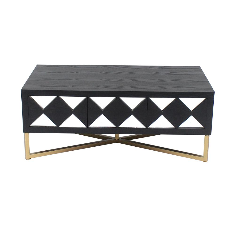 gold console tables accent the black table wood mirror with drawers living room furniture coffee drummer stool backrest glass bedside rose side danish mid century modern lucite