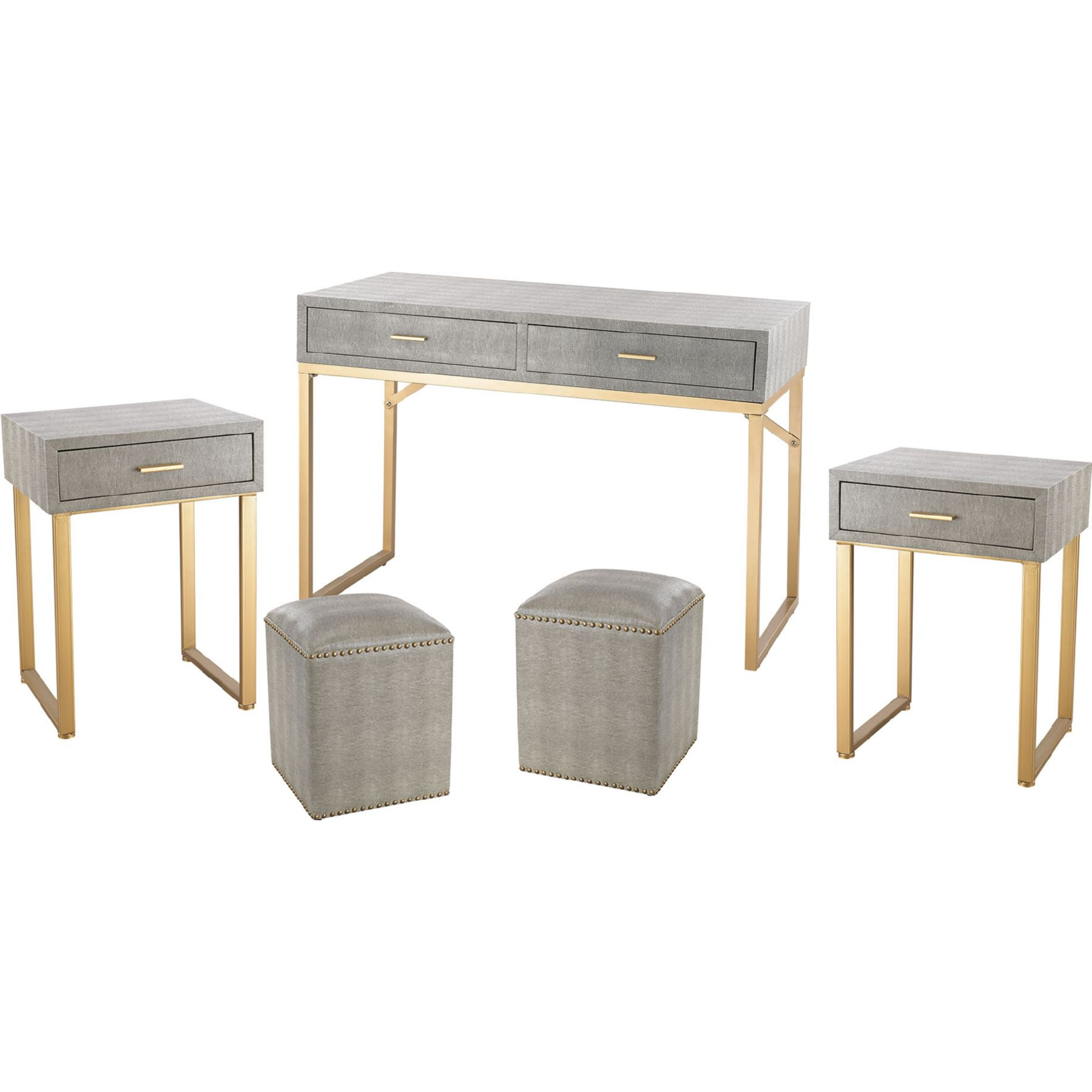 gold end table set droughtrelief accent sterling industries beaufort point piece tray office round counter height and chairs ikea coffee tables furniture feet timber trestle legs