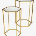gold end table set elegant bold accent tables gerson pany hautelook white outdoor small folding round quilted toppers bronze lamp corner bench farm chairs square glass coffee 150x150
