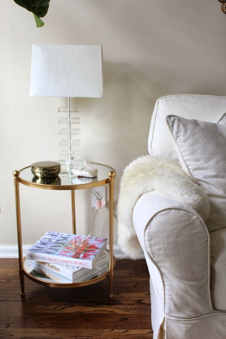 gold end table target loris decoration side tables hexagon accent white corner coffee cube nightstand small half round decorative cover rhinestone lamp farm legs placemat set