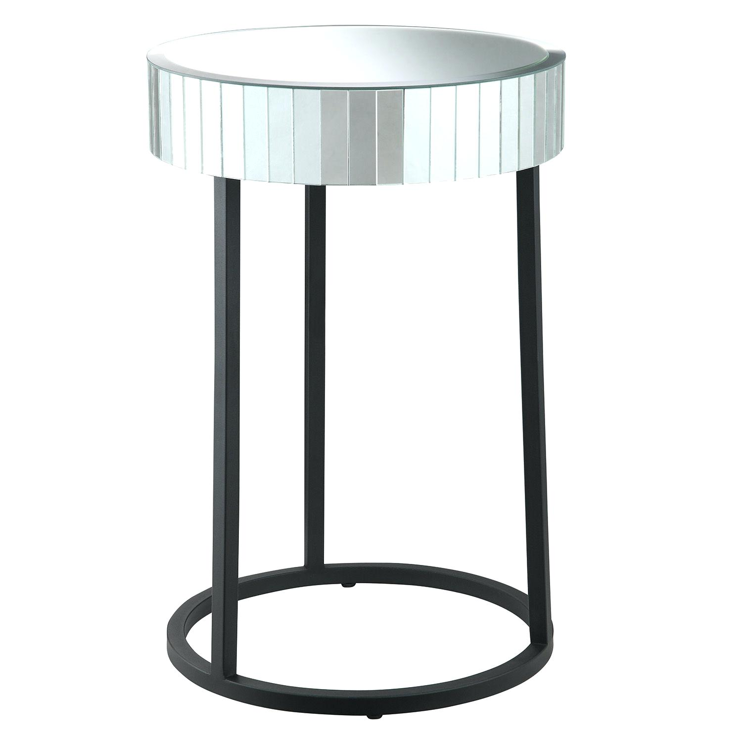 gold leaf iron mirror accent table round pier imports target white mirrored glass with drawer threshold wood furniture edmonton dining chair set marble end outdoor concrete side