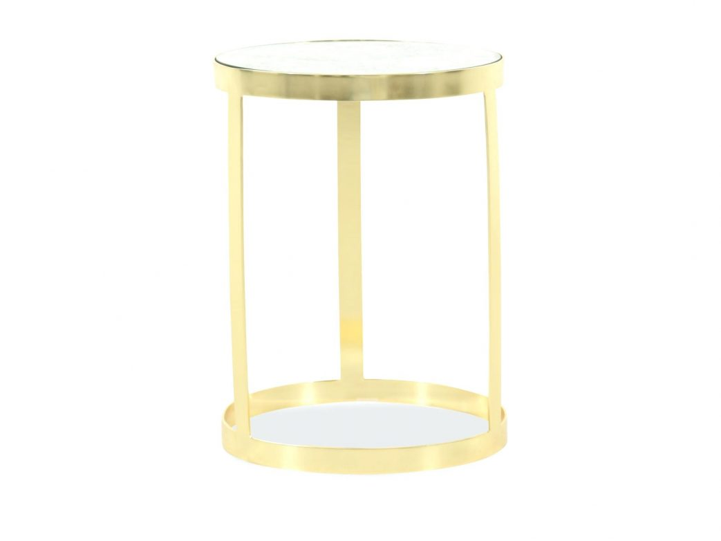 gold metal accent table and glass arley round cappuccino circles mirrored iron marble top traditional brothers furniture kitchen astounding large size green outdoor coffee with