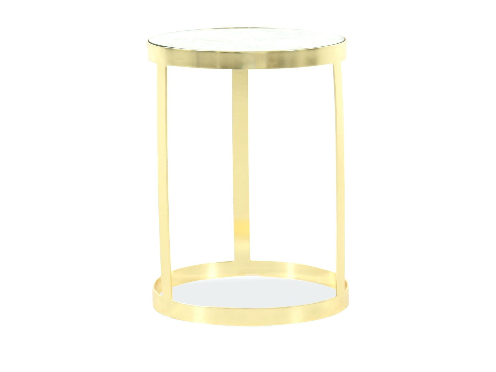 gold metal and glass accent table circles mirrored round cappuccino arley iron marble top traditional brothers furniture kitchen astounding fretwork threshold full size best wood