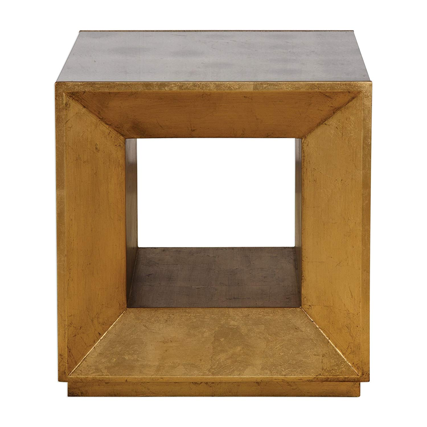 gold metallic mirrored bunching cube table end accent wood square open modern health personal care concrete garden narrow oak console furniture tucson target threshold teal baby
