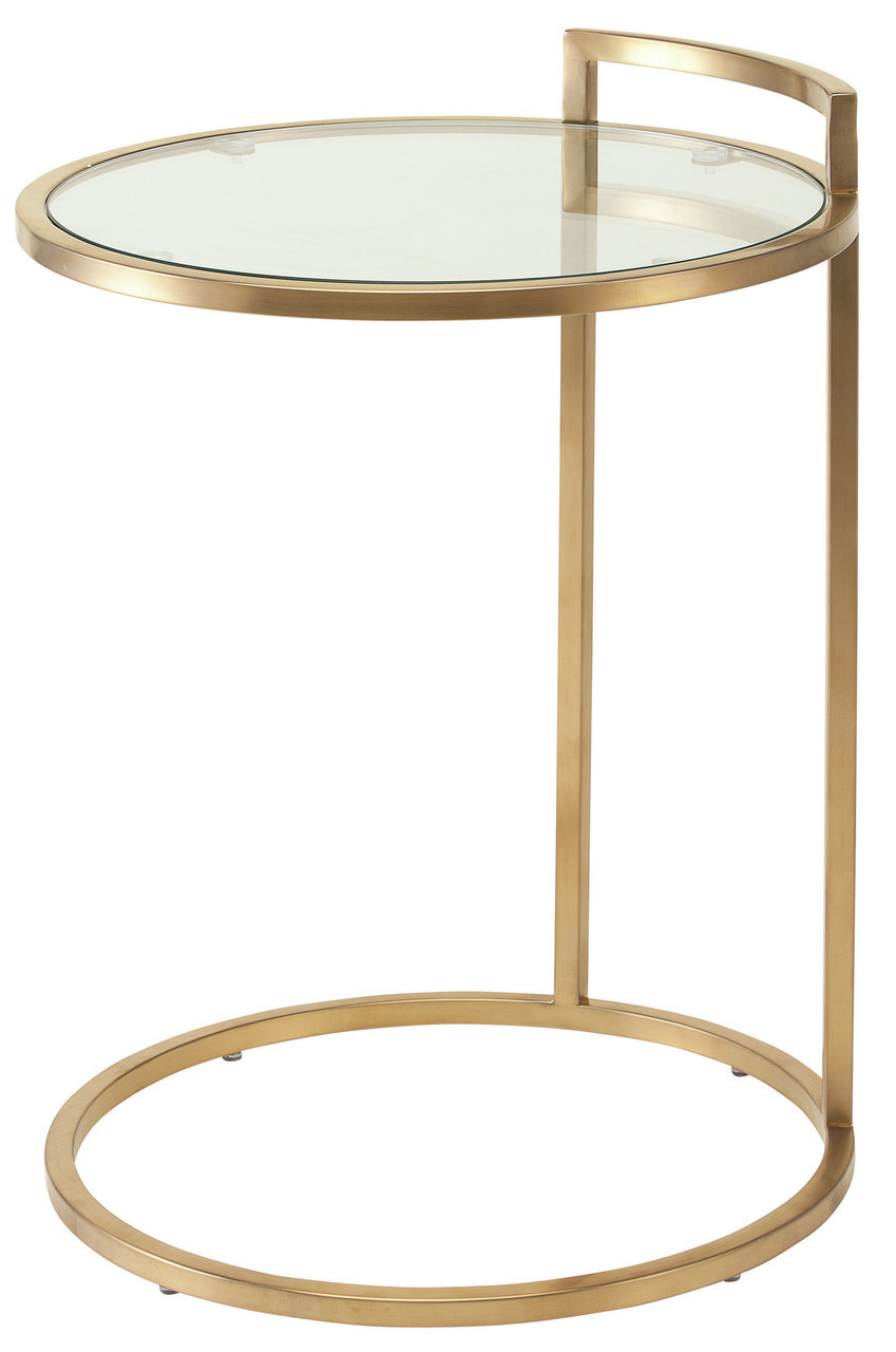 gold side table ikea probably outrageous nice modern end lily nuevo living and tables meco electric grill coffee with slate tile top tall thin lamps magnussen dresser mcm small