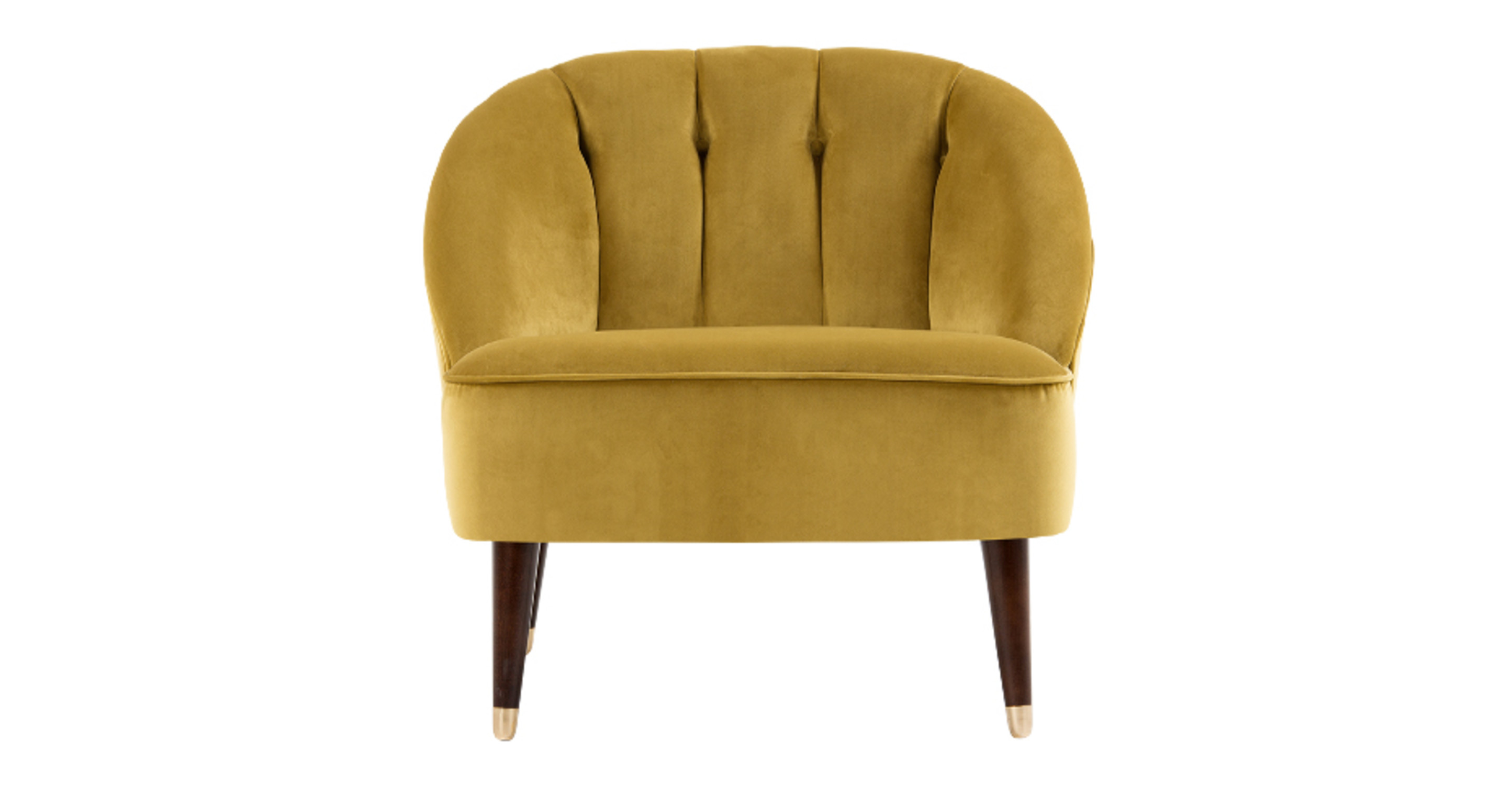 gold velvet chair margot accent antique madecom vintage armchair modern dining tables melbourne quilted caddy pattern grey sofa and loveseat slipcovers ikea gray small comfy couch