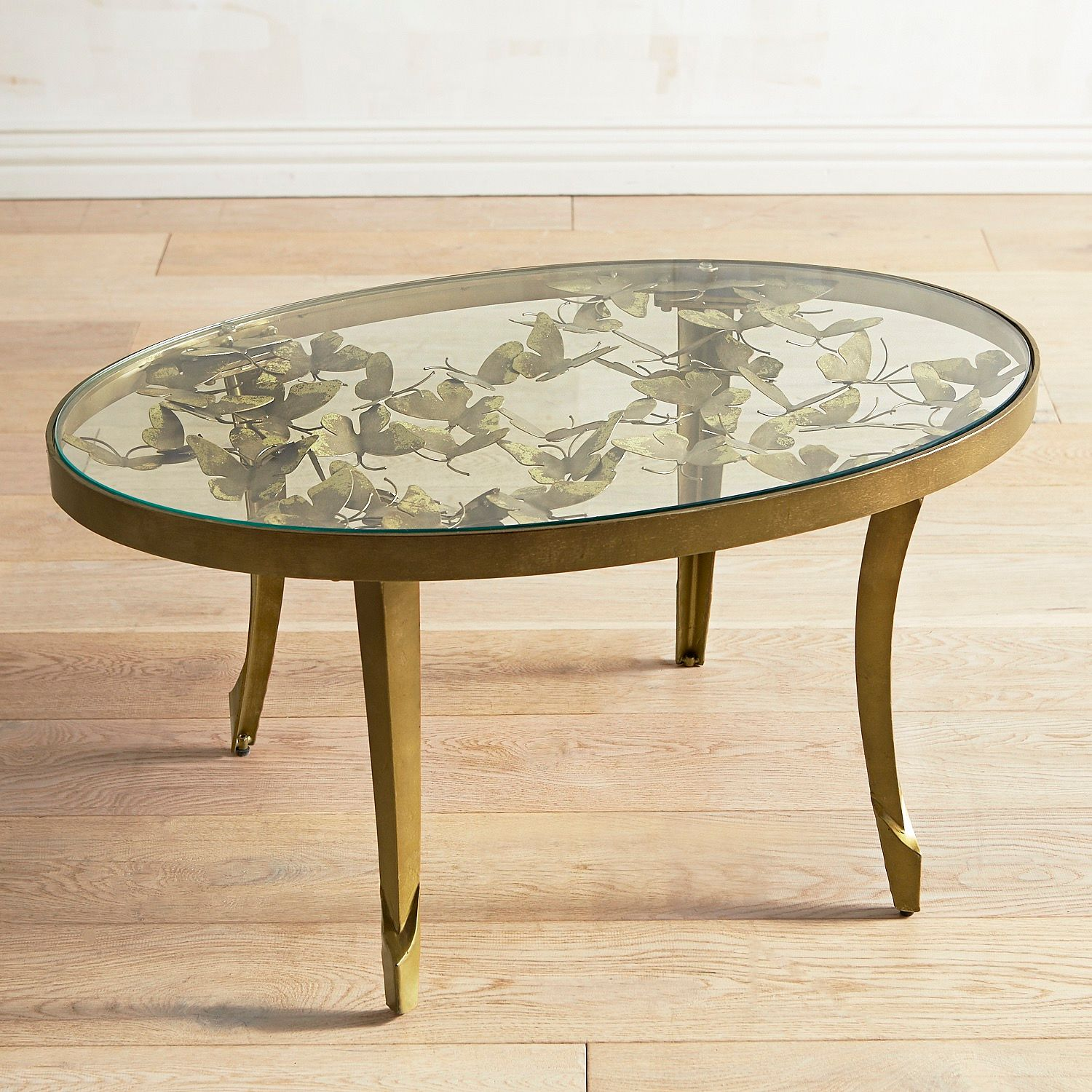 golden butterfly coffee table pier imports glass accent red metal side small round mirror stool oval shaped marble top end tables plastic patio and chairs very nightstand