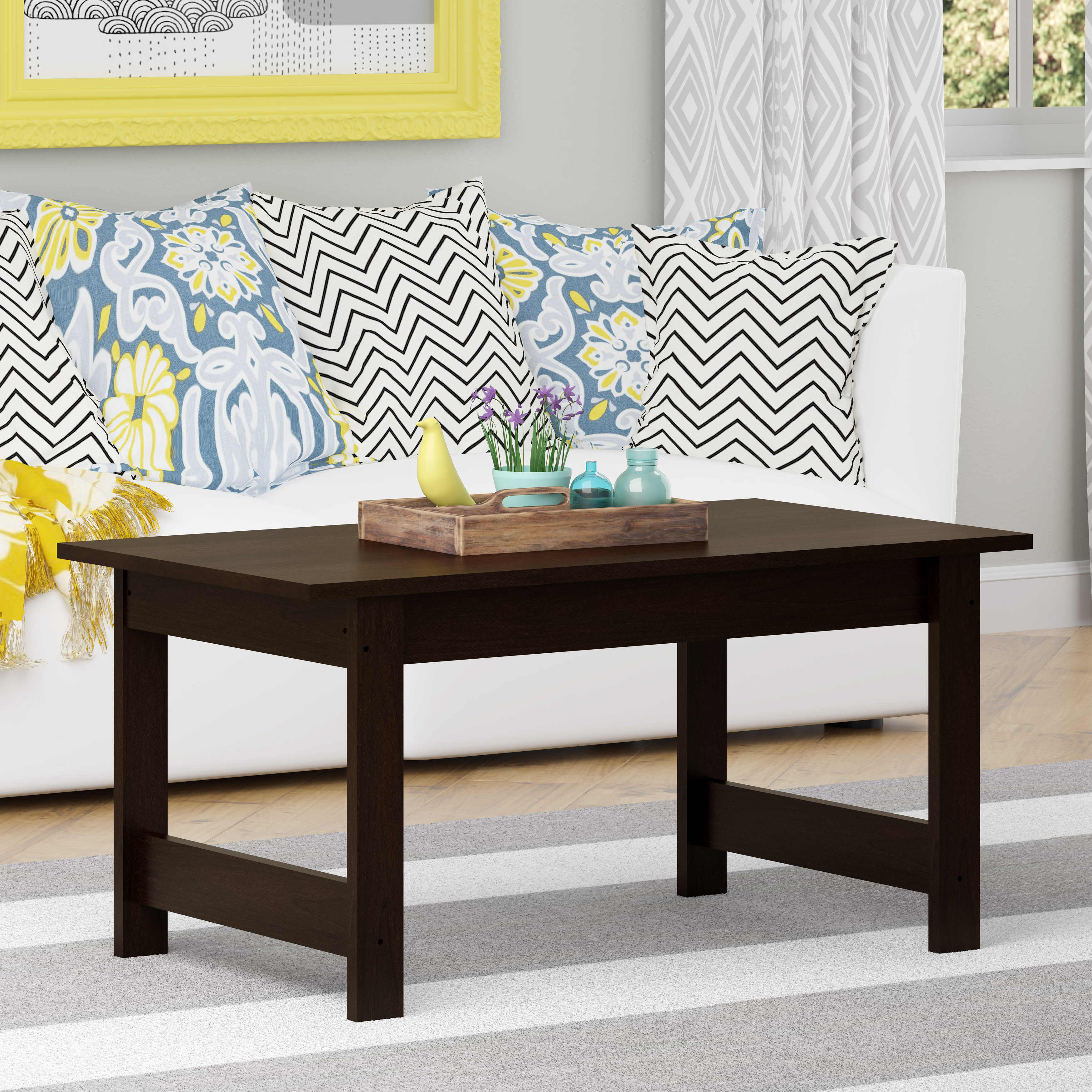 good coffee table cherry prod black side kmart patio furniture collections loveseat sleeper unusual tables square runner ikea breakfast dining room sets round wood glass set small