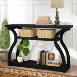 good looking farmhouse console tables table style hall hillside hafley hallway mirrored white kirklands outdoor black small gold amusi ideas hygena decor darley plans argos owings 150x150