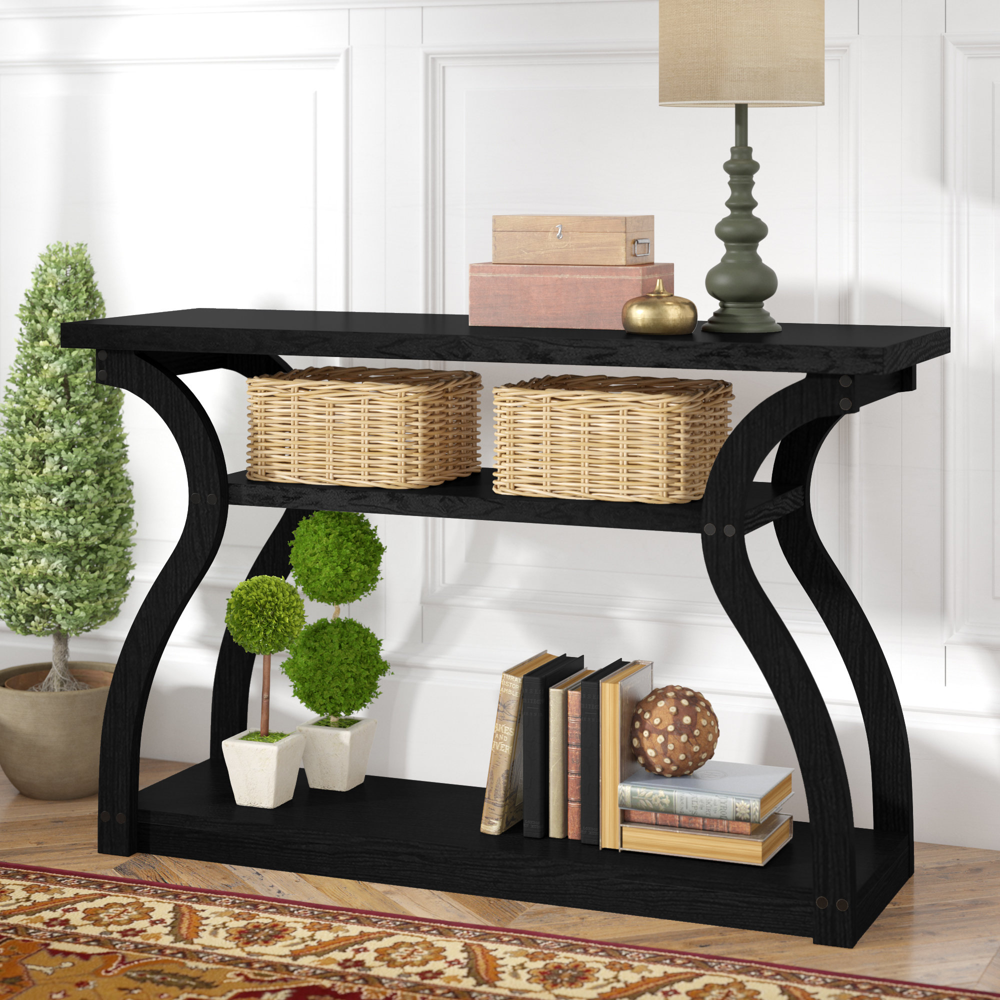 good looking farmhouse console tables table style hall hillside hafley hallway mirrored white kirklands outdoor black small gold amusi ideas hygena decor darley plans argos owings