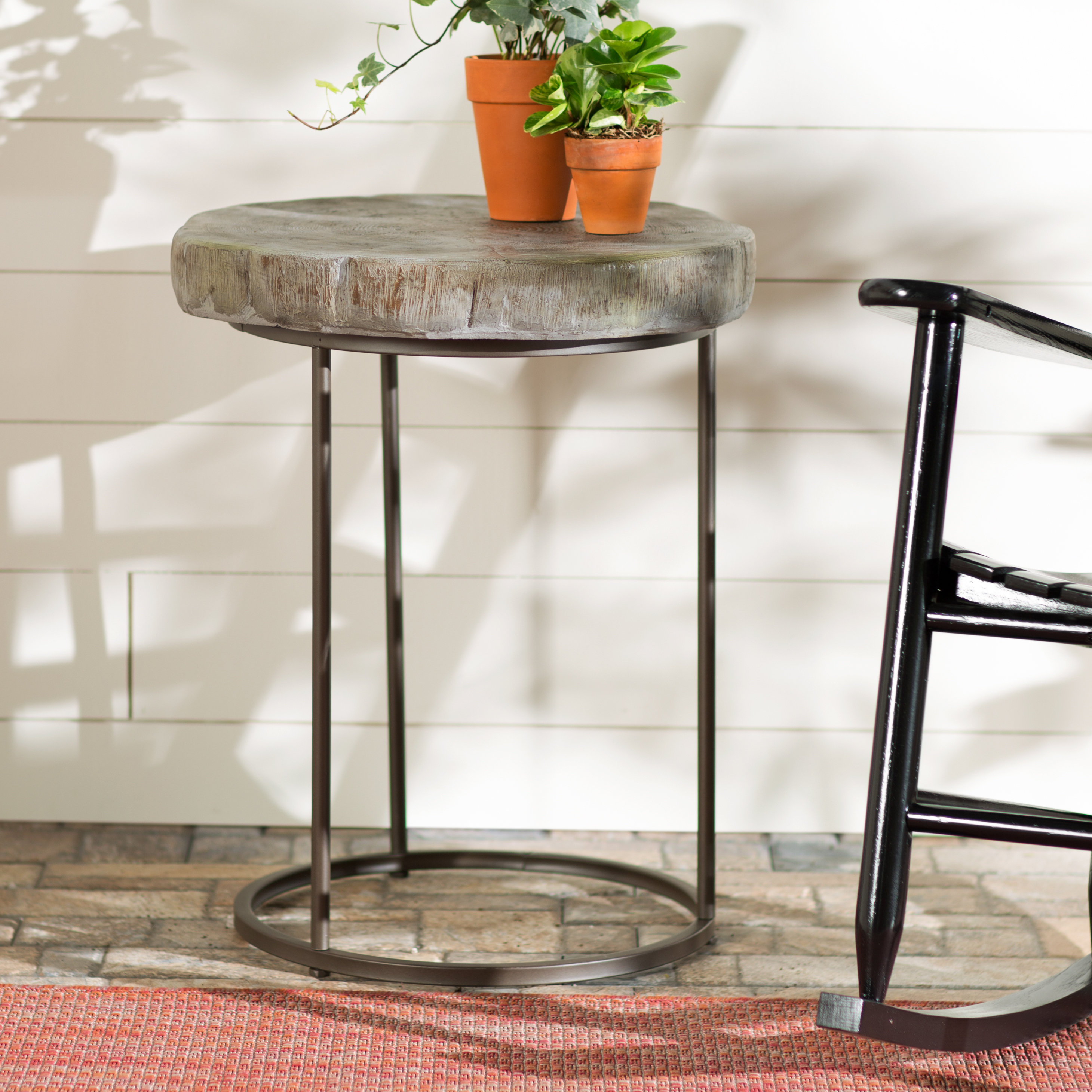 gracie oaks timblin side table reviews bombay outdoors pineapple umbrella accent ikea outdoor shelf glass top entry wood pedestal end clear plastic bar height round dining setting