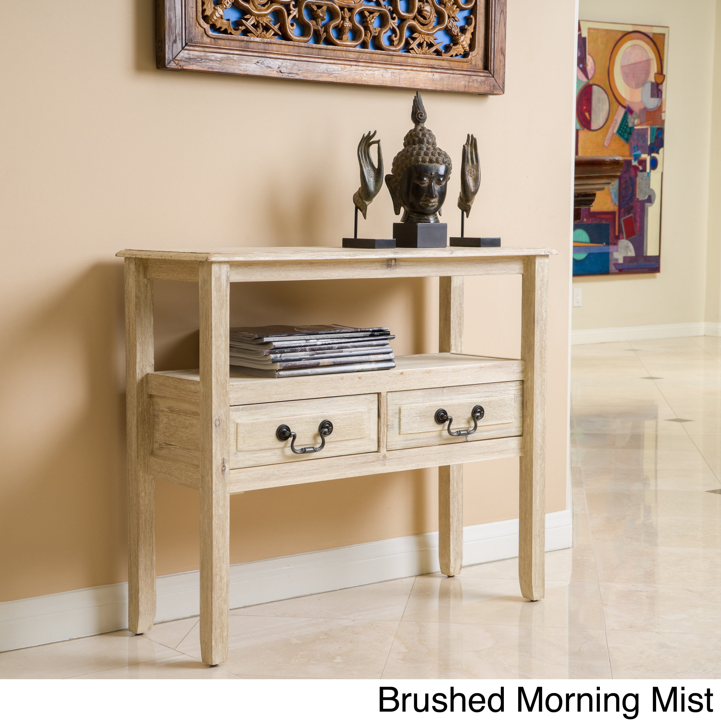grant acacia wood accent table christopher knight home brown faux marble dining knotty pine bedroom furniture clear acrylic end kitchen placemats benchwright side white porcelain