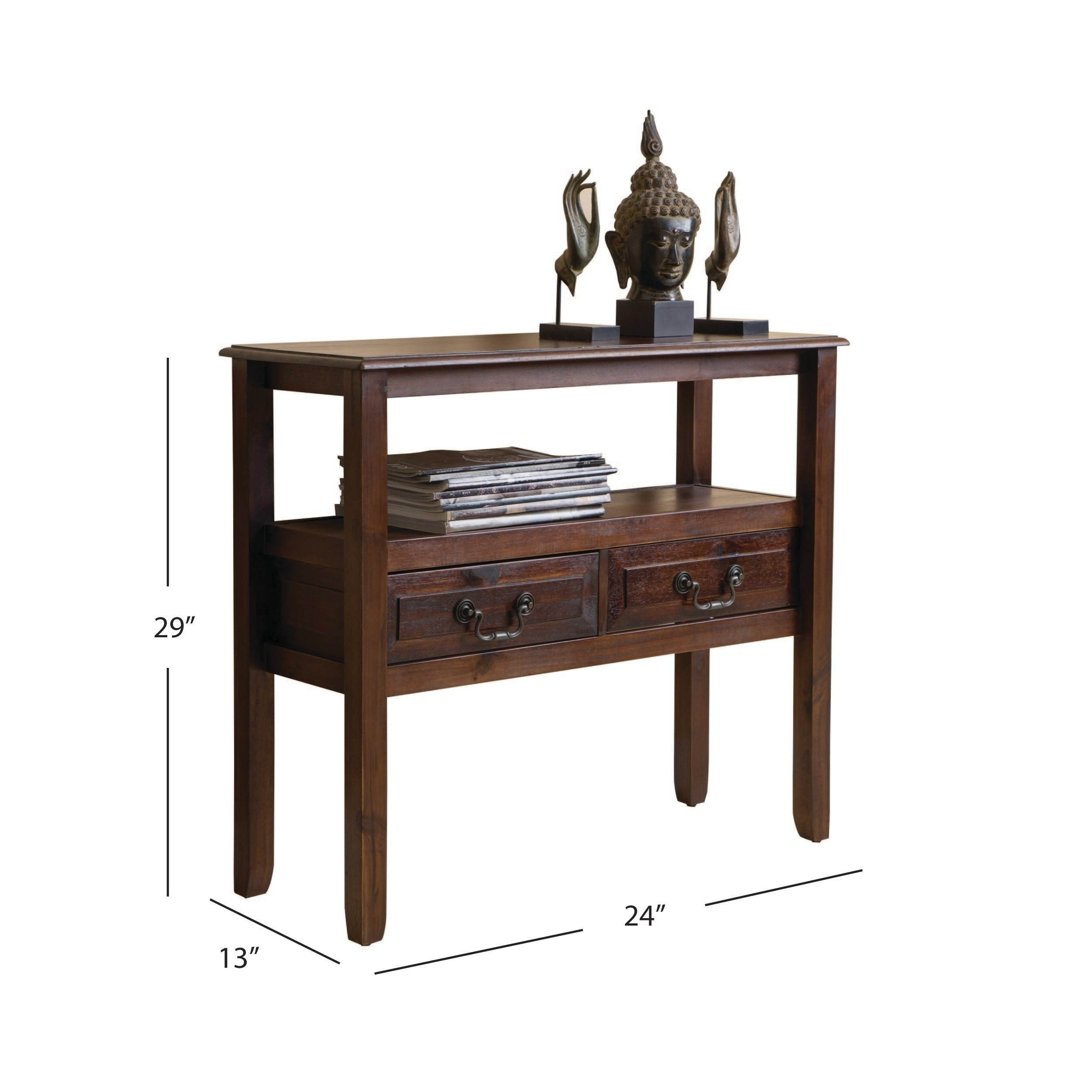 grant acacia wood accent table christopher knight home free shipping today round tablecloth sizes wooden threshold plates target coffee pottery barn architect lamp for black and