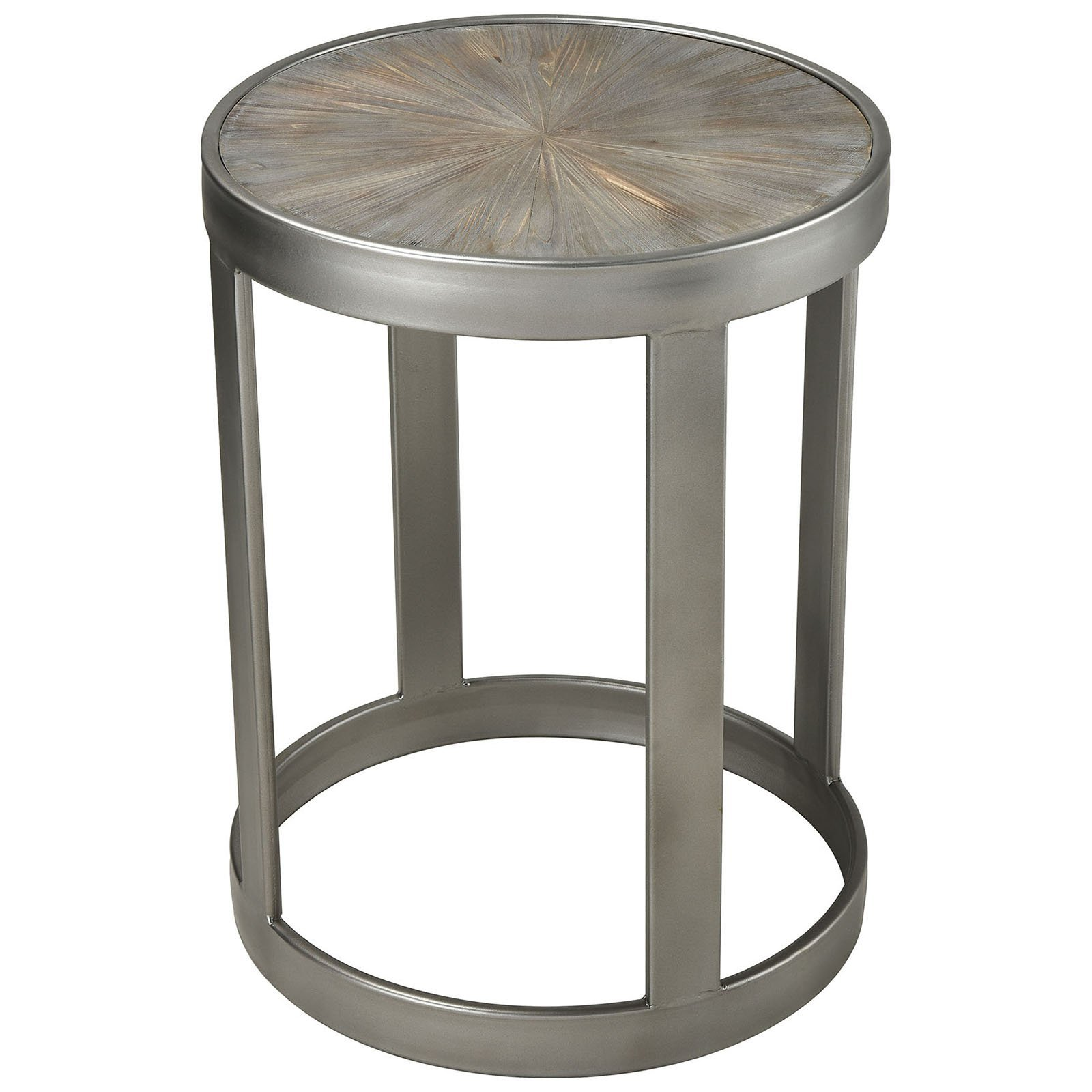 gravitas farmhouse accent tables salvaged grey wood fratantoni table with pewter metal and fir the room furniture black mirrored bedside small red lamp gray trestle dining pub