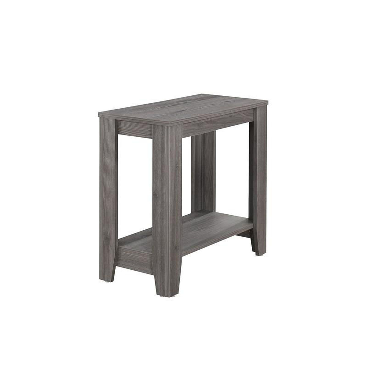 gray accent side table bizchair monarch specialties msp main white our modern solid wood with tapered legs pendant lighting lamps for living room brown end tables inch extra large