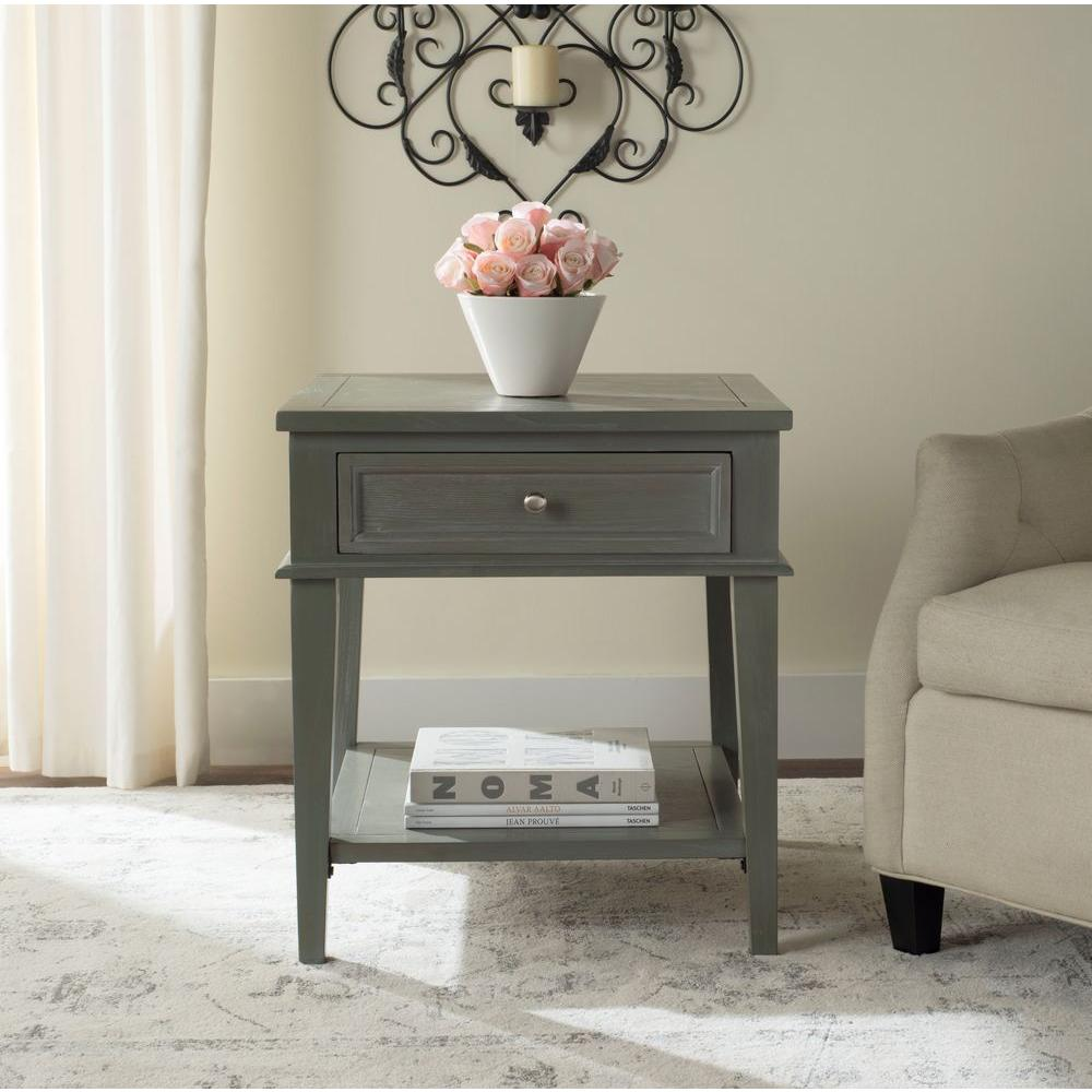 gray accent table from monarch coleman furniture safavieh manelin ash storage end the janika tall cabinet with glass doors live edge brown threshold modern toronto metal side