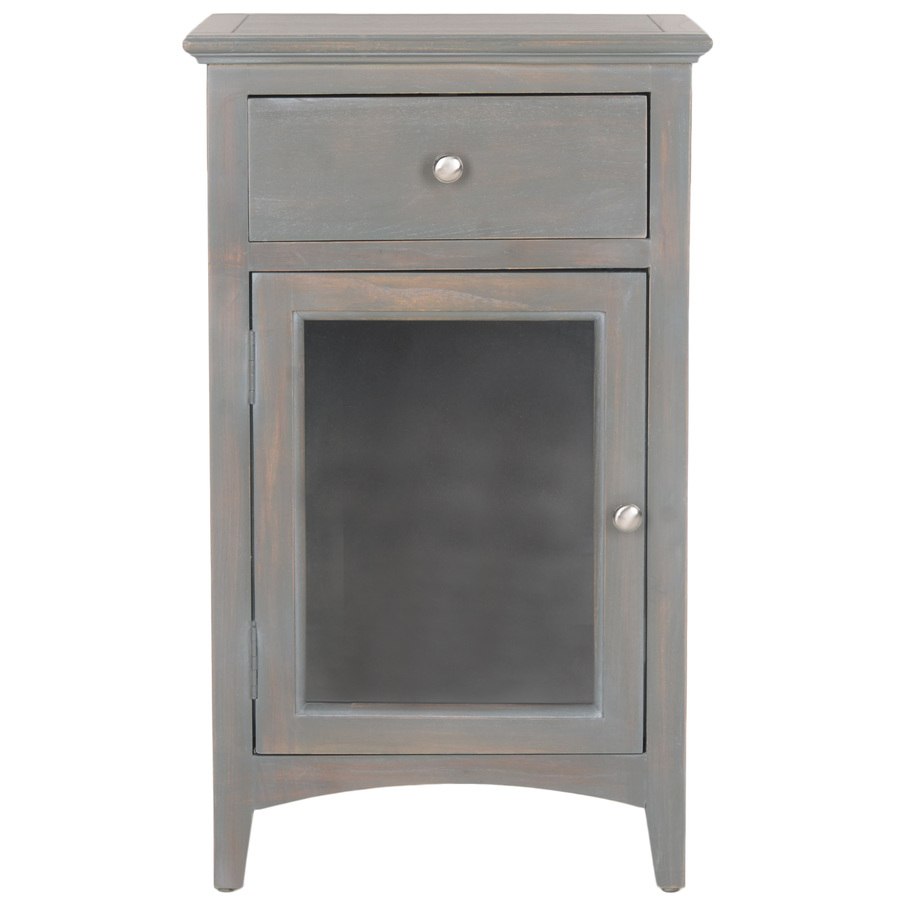 gray accent table from monarch coleman furniture safavieh ziva french elm end janika gas bbq grills threshold mirrored pottery barn small kitchen height and chairs wine cabinet
