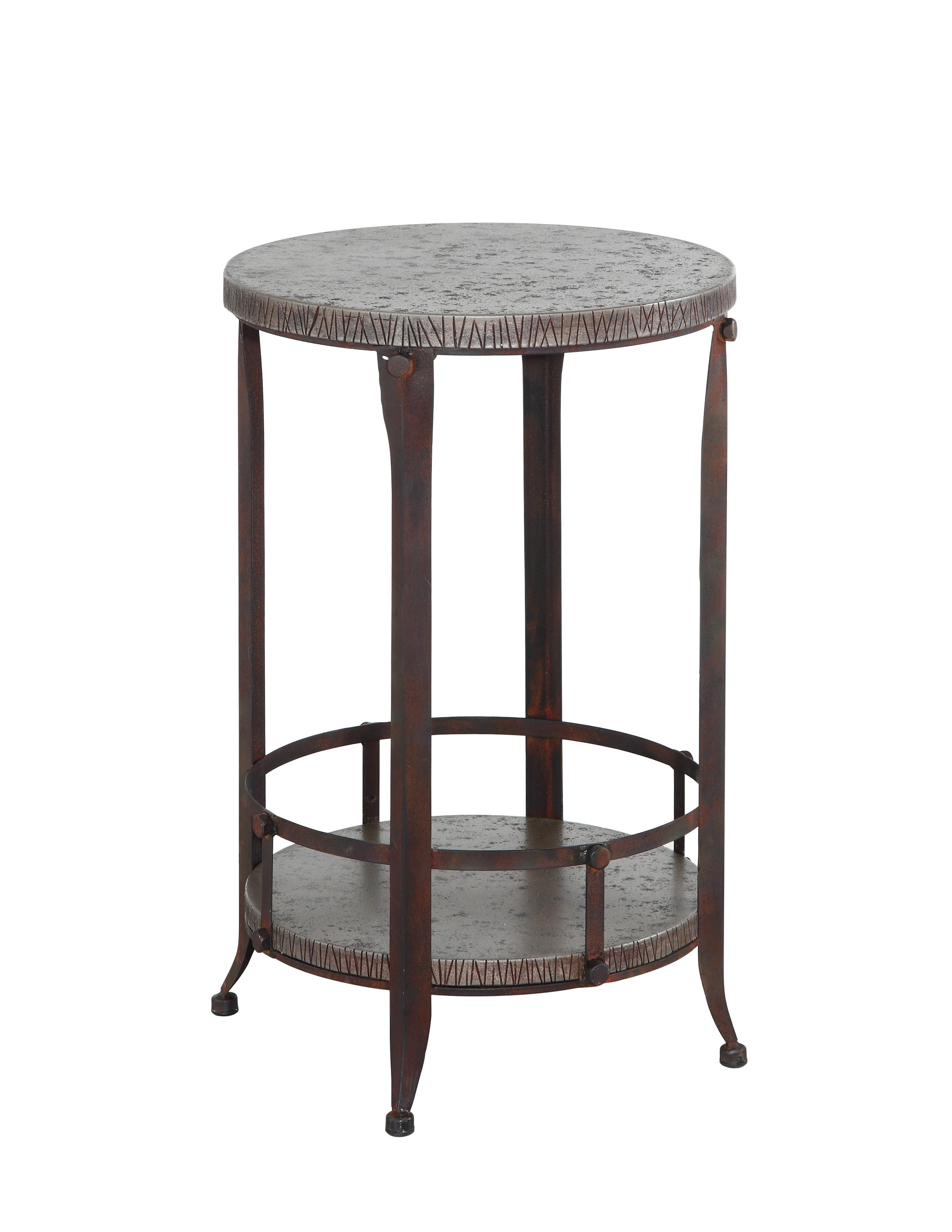 gray marble small round accent table using brown painted wrought focus for amazing iron tables the top reference occasional side antique wheels coffee pottery barn kids quilted