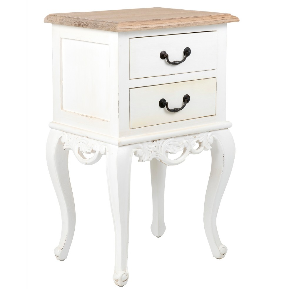 grayville square teakwood accent table white east main wood target half moon kitchen hampton bay spring haven folding card round coffee decor cream inch side hallway telephone