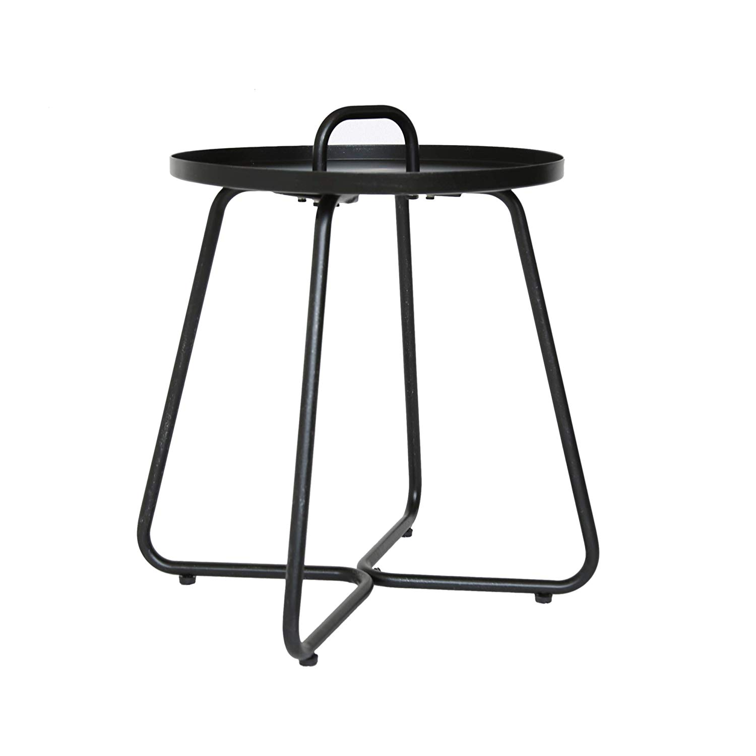 great furniture amy outdoor aluminum side table ryder small accent matte black garden shabby chic lamps pier nightstands tiffany style chandelier hotel with and usb smoked glass