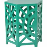 green artisan accent stool end table daily for moms babies emerald headboard with lights home goods decorative pillows cherry oak furniture inch wide nightstand corner round 150x150