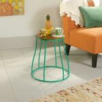 green end tables accent the sauder emerald table eden rue wood top side home goods decorative pillows white outdoor jcpenney bedroom sets cherry oak furniture bath tray best patio 150x150