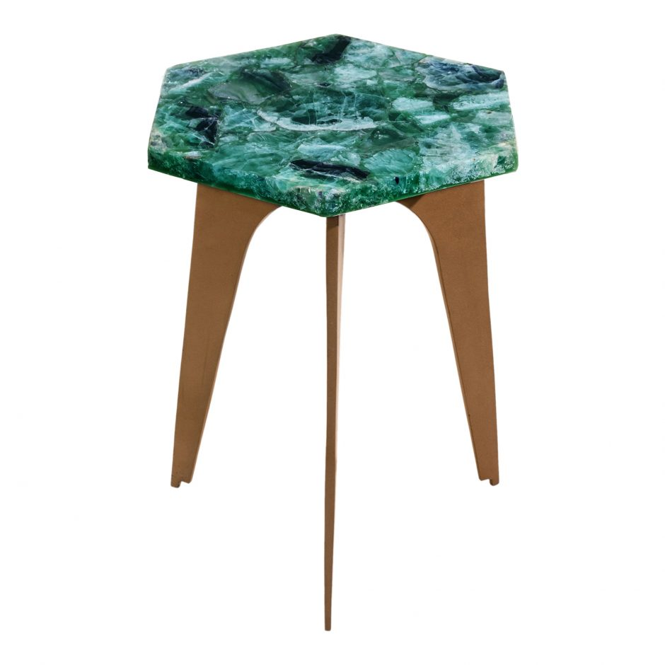 green fluorite accent table products moe whole tables dining mats leather occasional chair waterford lamps outdoor garden furniture sets brown metal coffee pretty round