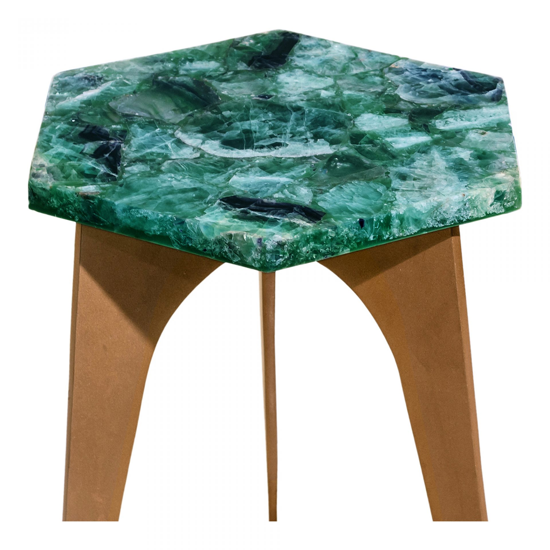 green fluorite accent table products moe whole tables quilted runners dining mats unfinished chairs battery powered standing lamp round metal side target wooden chair legs mango