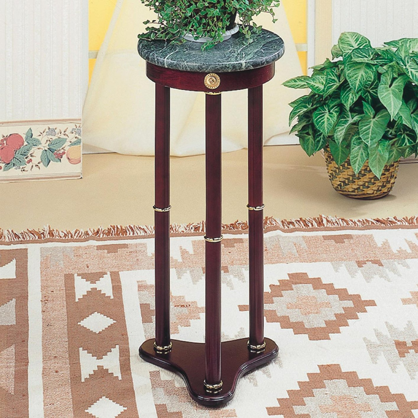 green wood accent table steal sofa furniture los angeles brown marble metal legs solid corner concrete and top tiffany style lamp shades promotions drum throne height unusual