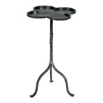 gregor accent table transitional organic mid century modern side outdoor umbrella end tables dering hall mirrored chest coffee stackable round glass top dining sets edmonton clear 150x150