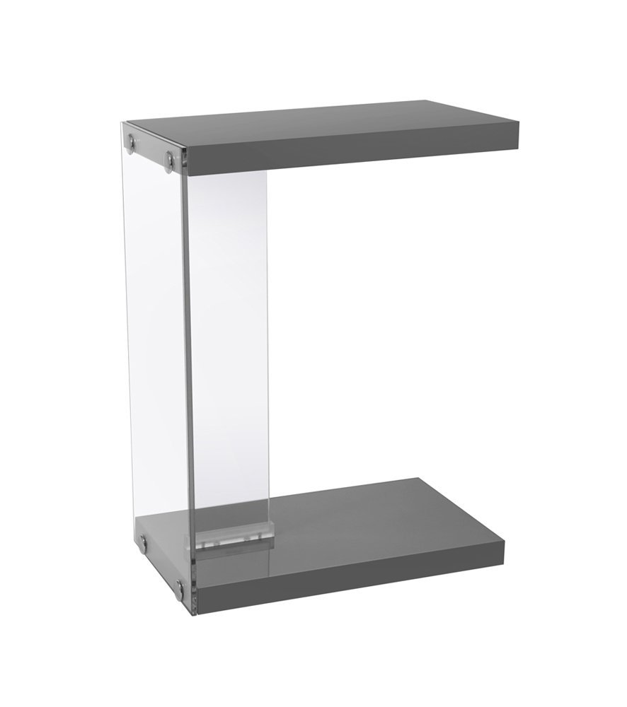 grey accent table find line monarch get quotations specialties glossy with tempered glass chair design classics dining covers target storage chest seat ikea small pier one imports