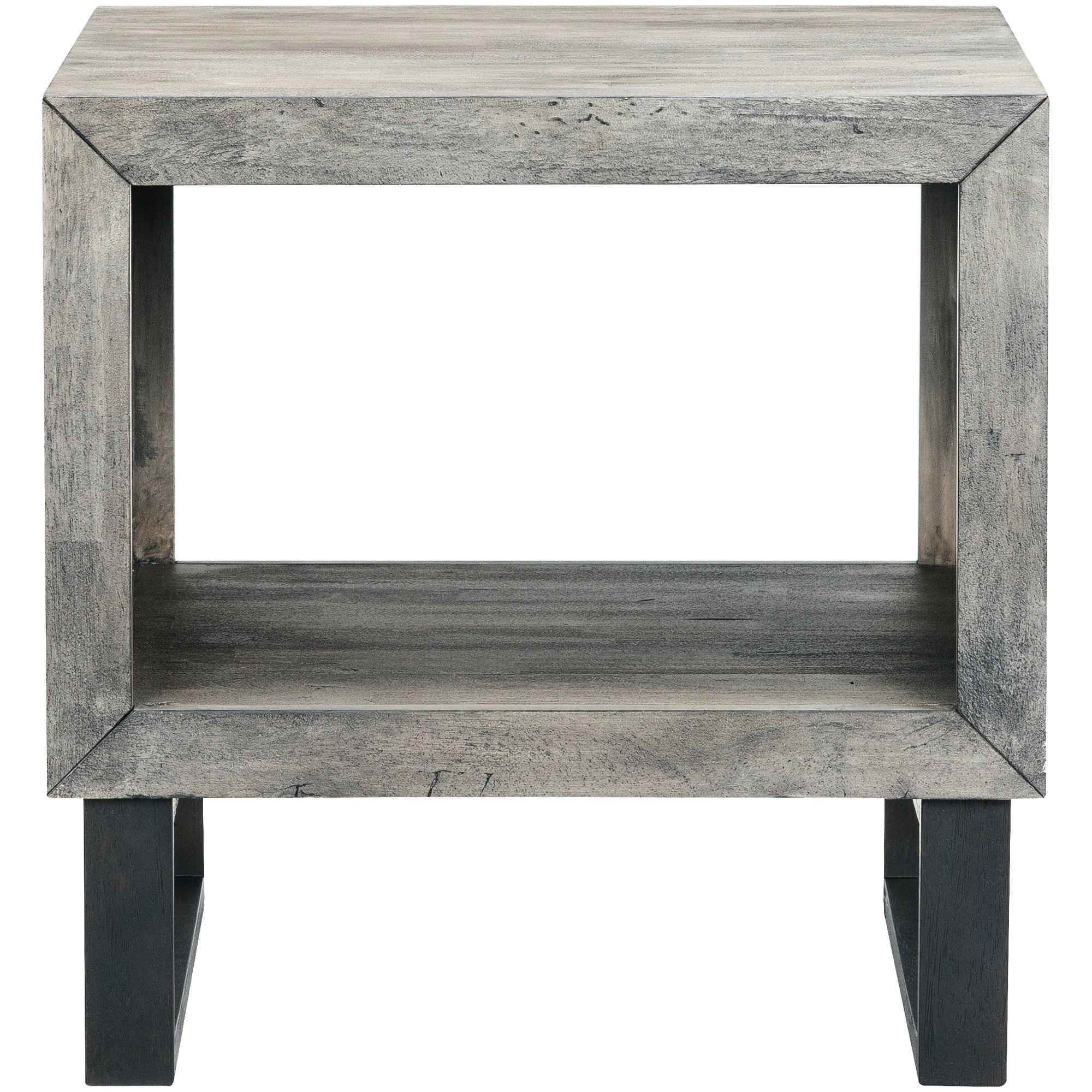 grey accent table gray wash jamesfrank info drive sandblasted metal eyelet related post brown coffee oval patio round wood and glass end tables pier imports furniture trestle